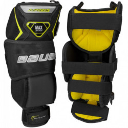 Bauer Supreme hockey goalie knee protector - Junior