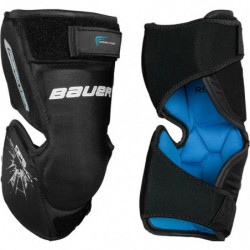 Bauer Reactor hockey goalie knee protector - Youth