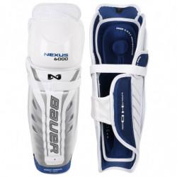 Bauer Nexus 6000 hockey shin guards - Junior