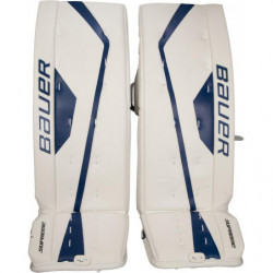 Bauer Supreme One.7 hockey goalie leg pads - Junior