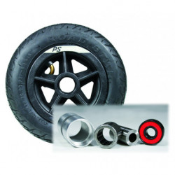 Kenda air tire for nordic skates with bearing
