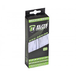 Elite Premium laces - White/Black
