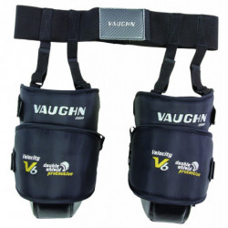Vaughn 2200 Velocity 6 hockey goalie knee protector - Senior