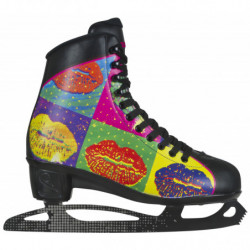 Powerslide Pop Art Lips women recreational ice skates - Senior
