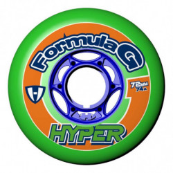 Hyper Formula G ERA wheels for hockey inline skates