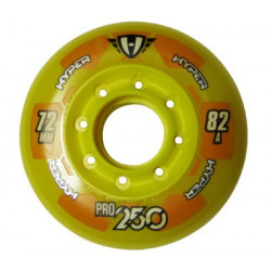 Hyper Pro 250 wheels for hockey inline skates