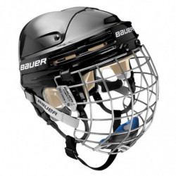 Bauer 4500 combo hockey helmet with cage - Senior