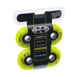 Hyper Concrete+G wheels for fitness inline skates