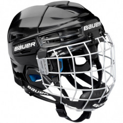 Bauer Prodigy combo hockey helmet with cage - Youth