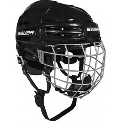Bauer IMS 5.0 Combo hockey helmet with cage - Senior