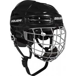Bauer IMS 5.0 Combo hockey helmet with cage - Senior