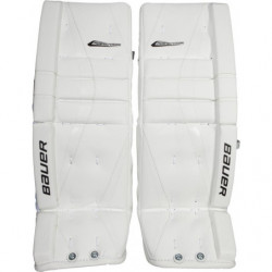 Bauer Reactor 5000 hockey goalie leg pads - Senior