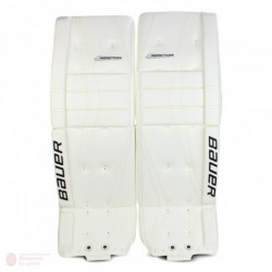 Bauer Reactor 9000 hockey goalie leg pads - Senior