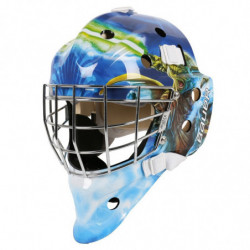 "Bauer NME 3 Star Wars ""Yoda"" hockey goalie mask - Youth"