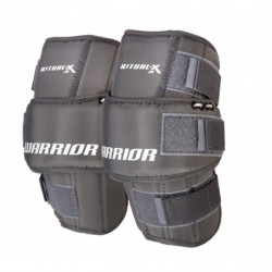 Warrior Ritual X hockey goalie knee protector - Junior