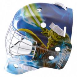 "Bauer NME Street Star Wars ""Yoda"" hockey goalie mask - Youth"