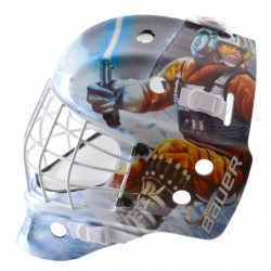 "Bauer NME Street Star Wars ""Luke"" hockey goalie mask - Youth"