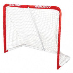 "Bauer Rec 50"" metal hockey goal"