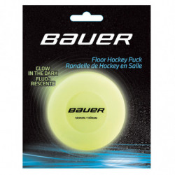 Bauer Glow in the Dark Hockey puck