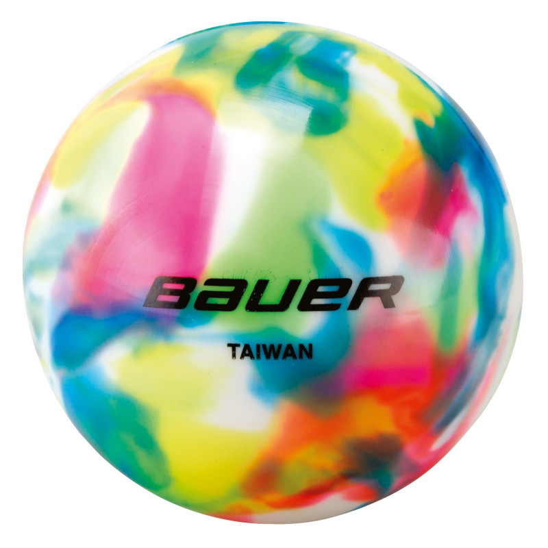 Bauer multicolor hockey ball