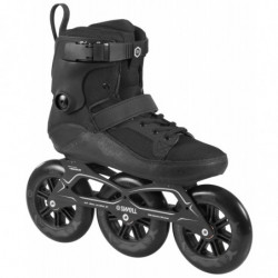 Powerslide Swell Black 125 fitness skates - Senior