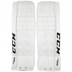 CCM Extreme Flex II 860 hockey goalie leg pads - Intermediate
