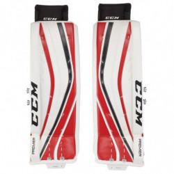 CCM Premier PRO hockey goalie leg pads - Senior