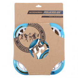 Powerslide Infinity wheels II Blue