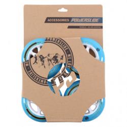 Powerslide Infinity wheels II Blue