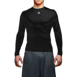 Warrior basis comp top tight fit long sleeve hockey shirt - Senior