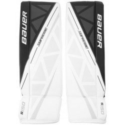 Bauer Supreme S150 hockey goalie leg pads - Senior