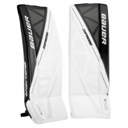 Bauer Supreme S150 hockey goalie leg pads - Junior