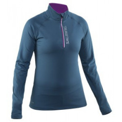 Salming Halfzip long sleeve running shirt women - Senior