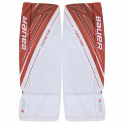 Bauer Supreme S190 hockey goalie leg pads - Intermediate