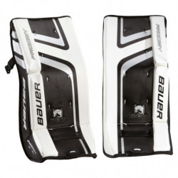 Bauer Prodigy 2.0 hockey goalie leg pads - Youth
