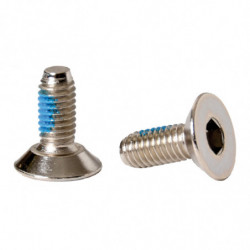 Bauer screw with round head
