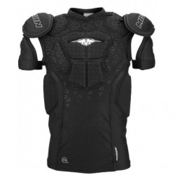 Mission Compression inline hockey shoulder and chest pads - Senior