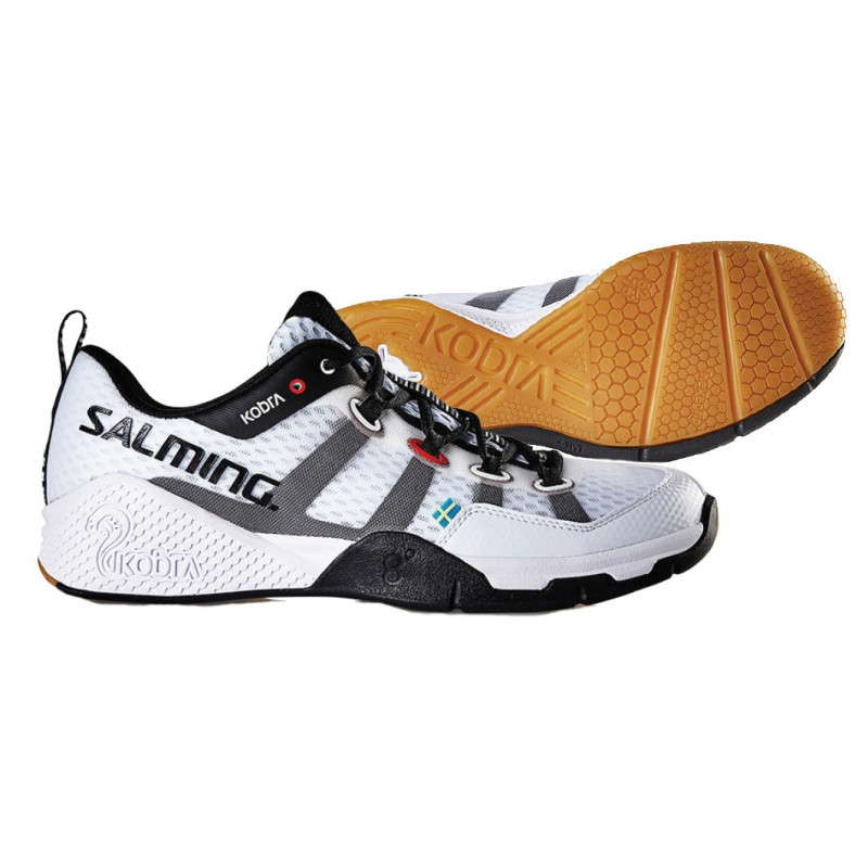 salming kobra white edition sport shoes senior