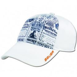 Bauer Newsprint cap