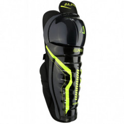 Warrior Alpha QX4  hockey shin guards - Junior