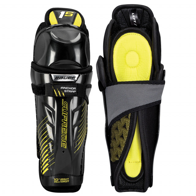 Bauer Supreme 1S Youth hockey shin guards - '17 Model