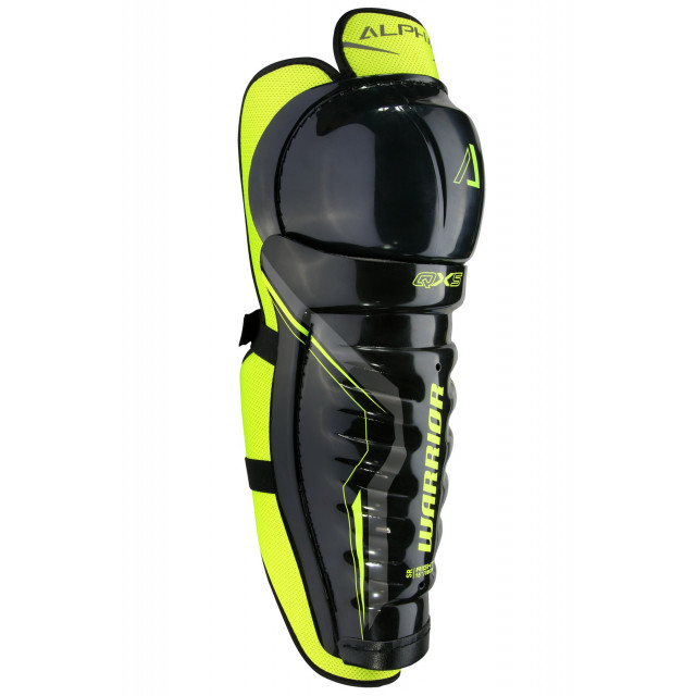Warrior Alpha QX5 hockey shin guards - Junior