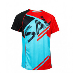 Salming Bold Print Running Tee Men - Senior