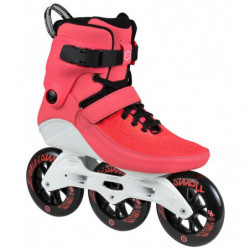 Powerslide Swell Trinity Bright Crimson 110 fitness skates - Senior