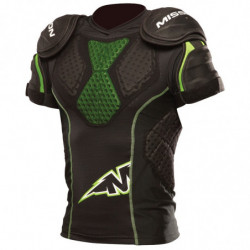 Mission PRO Compression inline hockey shoulder and chest pads - Senior