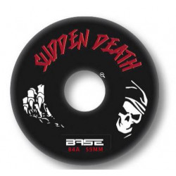 Base Outdoor Sudden death Pro wheels for hockey skates