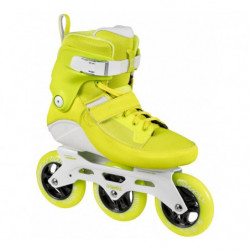 Powerslide Swell Yellow Flash 110 fitness skates - Senior