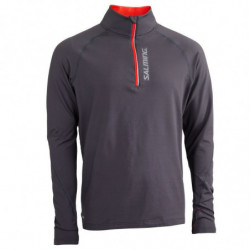 Salming Halfzip long sleeve running shirt men - Senior
