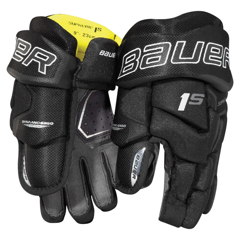 Bauer Supreme 1S Youth hockey gloves - '17 Model