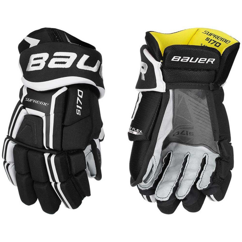 Bauer Supreme 170 Junior Hockey gloves - '17 Model
